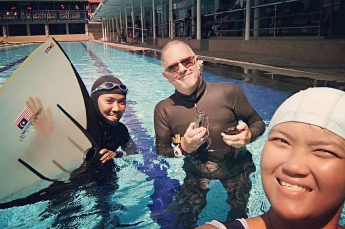 PJ Palms freediving