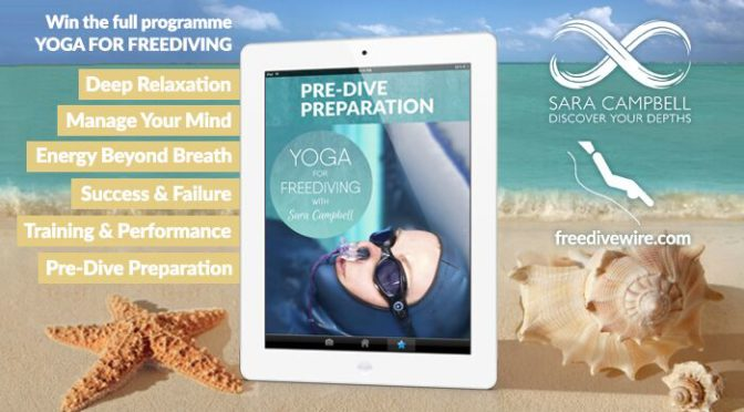 We're giving the amazing 6-part Yoga For Freediving course away for free!
