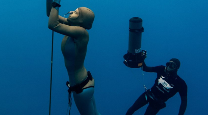 Women in freediving